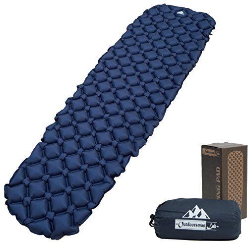 photo Wallpaper of OutdoorsmanLab-OutdoorsmanLab, Isomatte, Extrem Leicht, Extrem Kompakt–für Rucksackreisen, Camping, Urlaub Mit Superweichem Komfortablem-blau