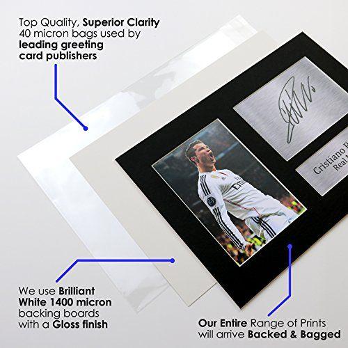 photo Wallpaper of HWC Trading-Von Sylvester Stallone Signiertes Gedrucktes A4 Autogramm, PSG Druck, Foto Display -