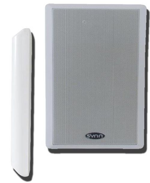 photo Wallpaper of Sintron-Sintron Dynavox Flatpanelspeaker WS 502 Weiss (Paar)-Weiss