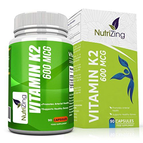 photo Wallpaper of NutriZing-★ Mejor Suplemento De Vitamina K2 ~ Alta Resistencia 600 Mcg-