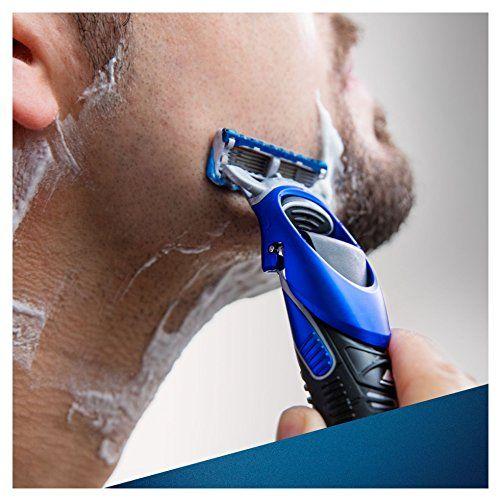 photo Wallpaper of Gillette-Gillette Fusion ProGlide Styler   Maquinilla De Barba Multiusos , Recortadora, Afeitadora,-Negro, Azul