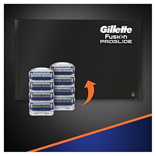 photo Wallpaper of Gillette-Gillette Fusion ProGlide   Cuchillas De Recambio Para Maquinilla De Afeitar-