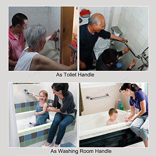 photo Wallpaper of Aulola-Aulola Grab Bar/baño Movilidad Y Discapacitados Asidero De Acero Inoxidable Bar/Home Assist Mango De-