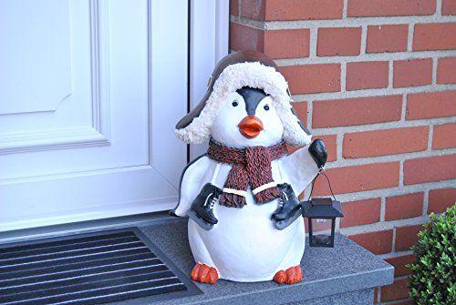 photo Wallpaper of MW Handel-Pinguin XXL Figur Solar Lampe Weihnachten Weihnachtsdekoration Xmas Winterdekoration Neu-