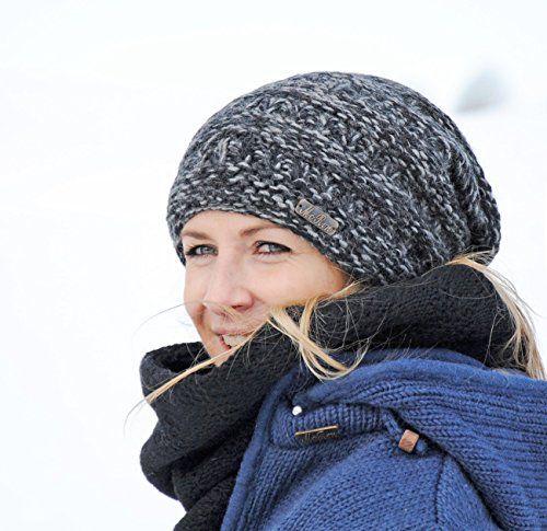 photo Wallpaper of McRon-McRon Wollmütze Hoa Bordeux Für Damen Mütze Beanie Strickmütze Slouch Gestrickte Wintermütze Warm-Bordeaux