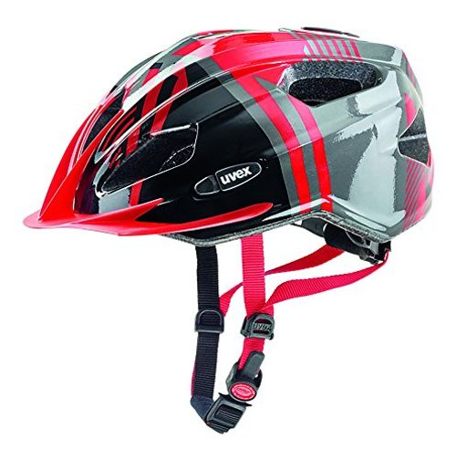 photo Wallpaper of Uvex-Uvex Kinder Quatro Junior Mountainbikehelm, Red Anthracite, 50 55 Cm-red-anthracite
