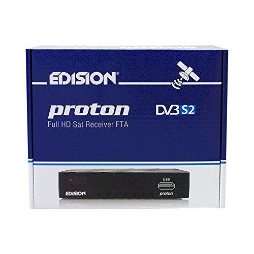 photo Wallpaper of EDISION-Edision Proton Full HD Satelliten Receiver FTA HDTV DVB S2-Schwarz