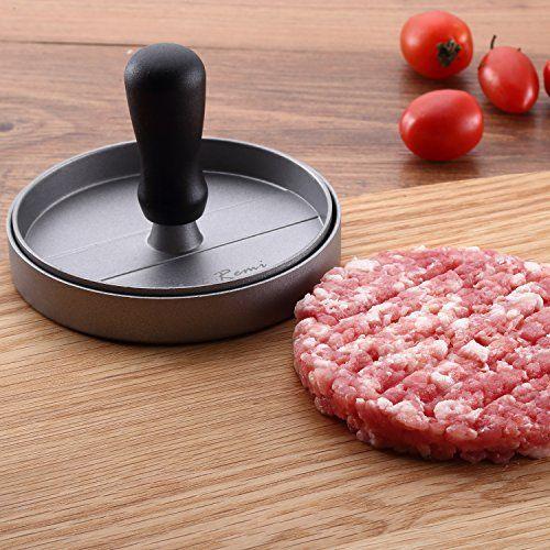 photo Wallpaper of Chef Remi-Neueste Antihaft Burgerpresse   Lebenslange Ersatzgarantie   Best Bewertetes-silber