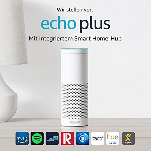photo Wallpaper of Amazon-Wir Stellen Vor: Echo Plus   Mit Integriertem Smart-Weiß