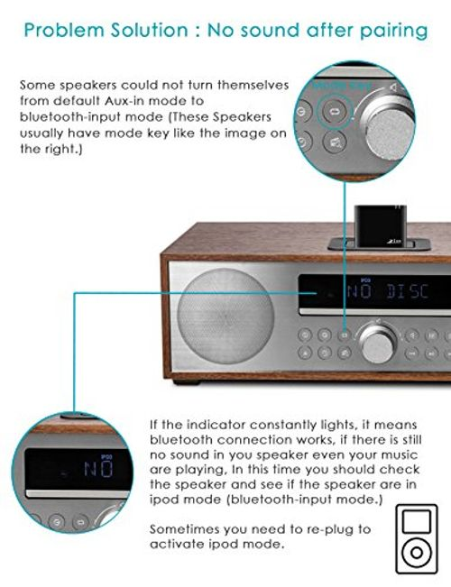 photo Wallpaper of Ziocom-Bluetooth 30 Pin Audio Adapter 4.1 Musik Empfänger Für BOSE Sounddock Lautsprecher Für-Schwarz