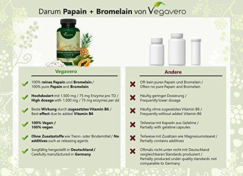 photo Wallpaper of Vegavero-Papaína (Papaya) Y Bromelina (Piña) + Vitamina B6 De Vegavero | Digestión-