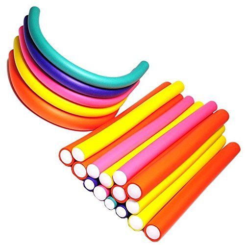 photo Wallpaper of Pinkiou-Pinkiou 42 Piezas 7 Tamaños Rodillos Flexibles Rodillos Twist Flex Rod-