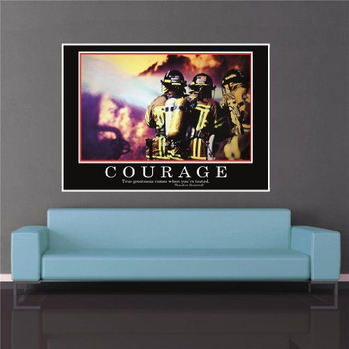 photo Wallpaper of great-art-Courage Poster  ORIGINAL  Barney Stinson Poster   10/13 -