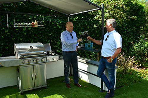 photo Wallpaper of SORARA-BBQ Grill Pavillon | Dunkelgrau | 265 X 150 Cm-Grau