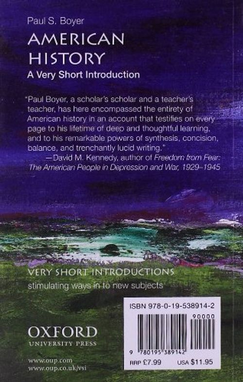 photo Wallpaper of -American History: A Very Short Introduction (Very Short Introductions)-
