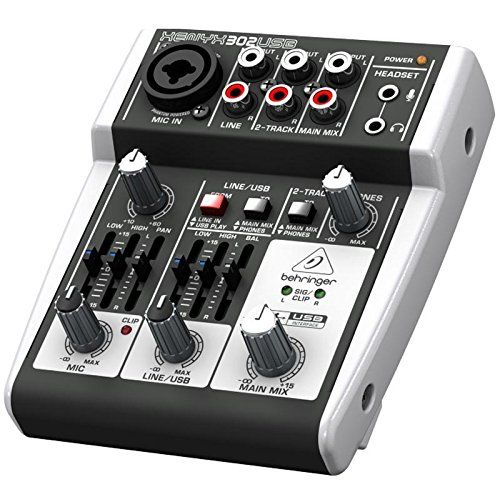 photo Wallpaper of Behringer-Behringer XENYX 302USB 5 Input Mixer Mit XENYX Mic Preamp Und-