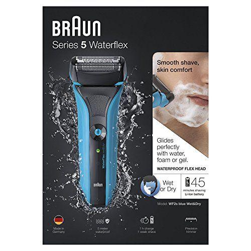 photo Wallpaper of Braun-Braun Series 5 WaterFlex WF2s   Afeitadora Eléctrica De Lamina Para Hombre,-