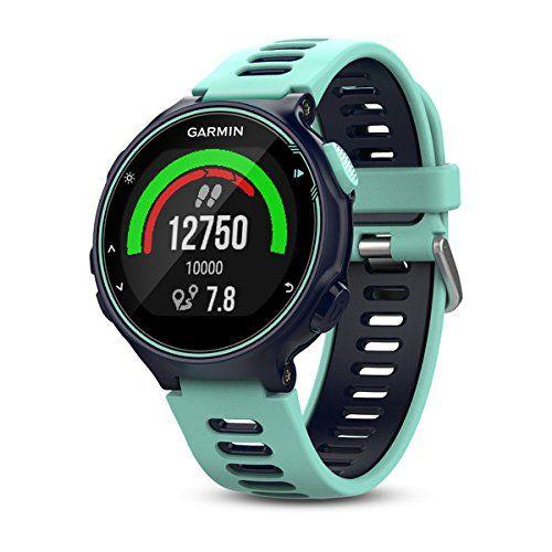 photo Wallpaper of Garmin-Garmin Forerunner 735XT   Reloj Multisport Con GPS, Tecnología Pulsómetro Integrado, Unisex, Standalone,-Turquesa y azul