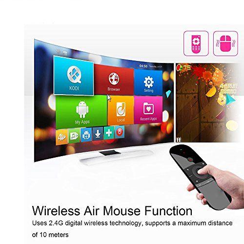 photo Wallpaper of LinStar-2,4 GHz Air Mause Wireless Mini Tastatur Mit Maus Spiel Griff Android Fernbedienung-57B