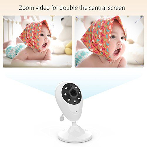 "photo Wallpaper of Cozime-Cozime Babyphone Mit Kamera, Video Babyphone Mit Mikrofon Und 2.4""LCD-"