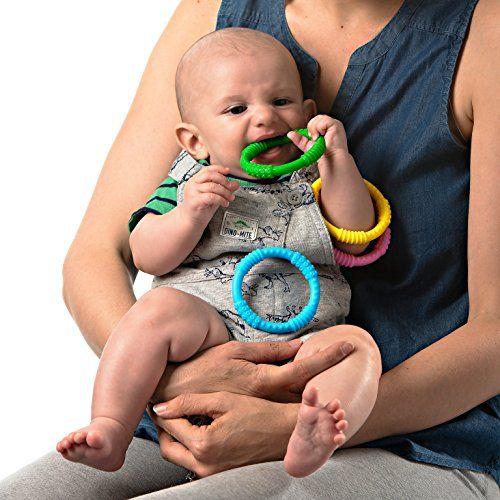 photo Wallpaper of Babynow-Mordedor Bebé Silicona En Anillas De Babynow [Pack 4] Reduce-4 colores