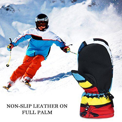 photo Wallpaper of Vbiger-Vbiger Skifahren Handschuhe Skihandschuhe KinderSchnee Handschuhe Outdoor Handschuhe Sport Handschuhe-Mehrfarbig