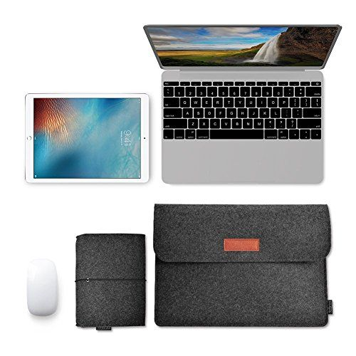 photo Wallpaper of dodocool-Dodocool 13,3 Zoll Filz Sleeve Hülle Ultrabook Laptop Tasche Für-Grau