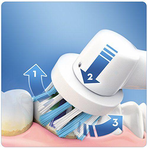 photo Wallpaper of Oral-B-Oral B   Cepillo De Dientes Recargable Vitality Sensitive-Azul, Blanco