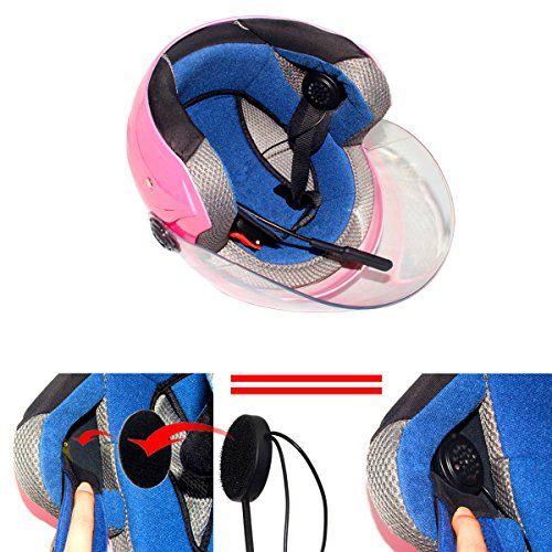 photo Wallpaper of TechCode-Motorrad Helm Wireless Bluetooth Kopfhörer, TechCode MH01 Sprech Motorrad Helm Wireless Bluetooth 4.0-Transparent