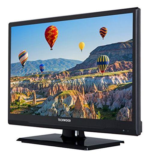 photo Wallpaper of Techwood-Techwood H20T11A 51 Cm (20 Zoll) Fernseher (HD Ready, Triple Tuner)-Schwarz
