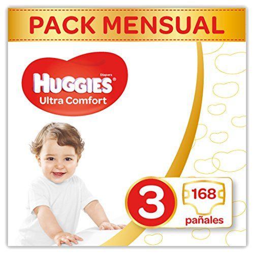 photo Wallpaper of Huggies-Huggies Ultra Comfort Pañales Talla 3 (4 9 Kg)   168 Pañales-Weiss