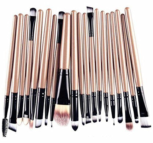 photo Wallpaper of Hosaire-Hosaire 20x Professional Make Up Pinsel Billig Trendiges Set Tools Make Up-Pinsel