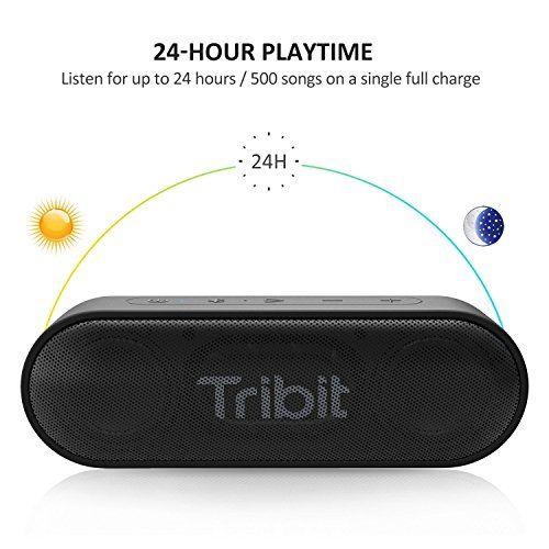 photo Wallpaper of Tribit-Bluetooth Lautsprecher, Tribit XSound Go Tragbarer Bluetooth Lautsprecher, 2 × 6W Kabelloser Lautsprecher-