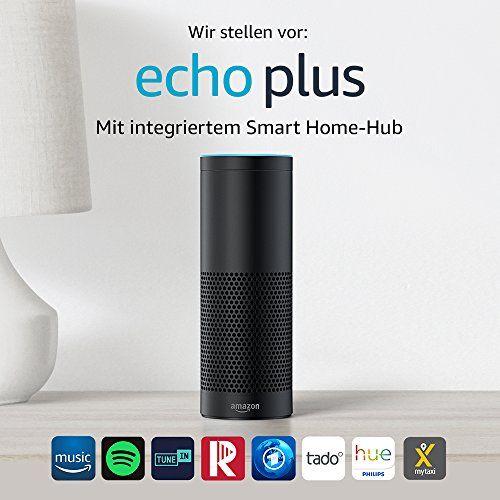 photo Wallpaper of Amazon-Wir Stellen Vor: Echo Plus   Mit Integriertem Smart Home Hub-Schwarz