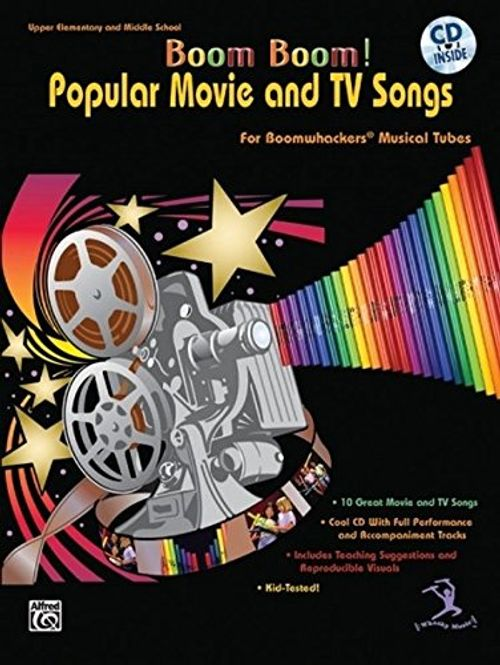 photo Wallpaper of Alfred Music-Boom Boom! Popular Movie And TV Songs For Boomwhackers Musical Tubes-