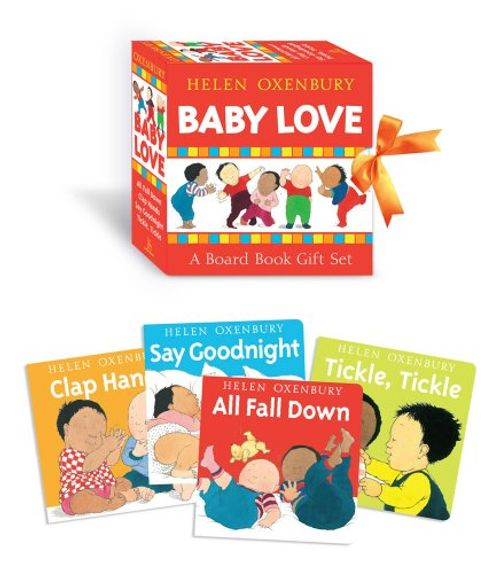 photo Wallpaper of -Baby Love: A Board Book Gift Set/All Fall Down; Clap Hands; Say Goodnight; Tickle,-