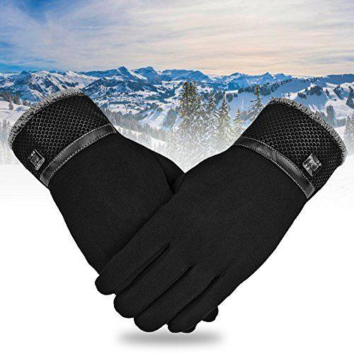 photo Wallpaper of Vbiger-Vbiger TouchscreenHandschuhe Winter Handschuhe Outdoor Handschuhe Warme Handschuhe Mit Fleecefutter-Schwarz