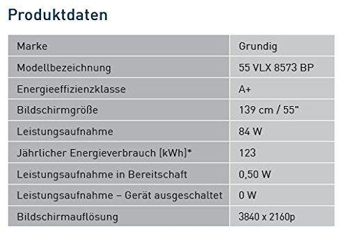 photo Wallpaper of Grundig-Grundig 55 VLX 8573 BP 140cm (55 Zoll) Fernseher (Ultra HD,-schwarz