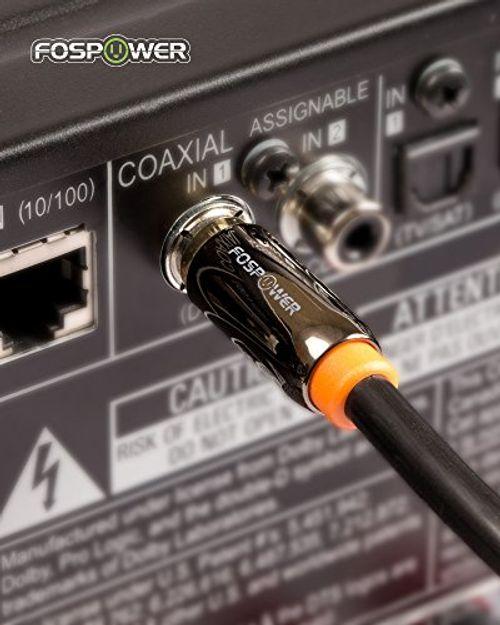photo Wallpaper of FosPower-FosPower (1,8m) RCA Digitale Audio Kabel Koaxialkabel (24K Vergoldet) S/PDIF-6ft