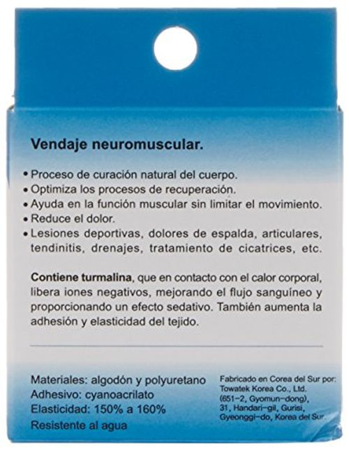 photo Wallpaper of Irisana-Irisana Vendaje Neuromuscular, Color Negro   85 Gr-Negro