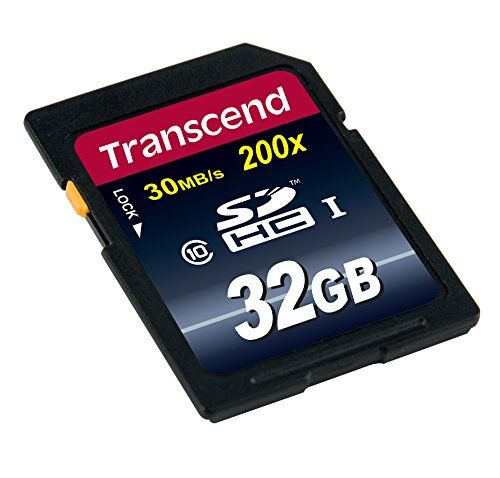 photo Wallpaper of Transcend-Transcend Extreme Speed SDHC Class 10 Speicherkarte (bis 30MB/s Lesen)-Blau