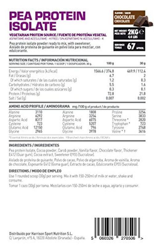 photo Wallpaper of HSN Essentials-HSN Essentials   Proteína De Guisante Aislada, Apta Para Veganos-