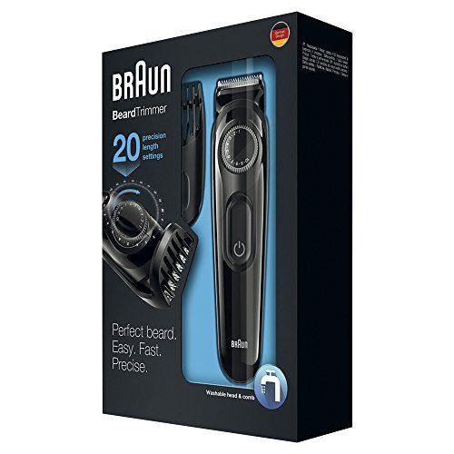photo Wallpaper of Braun-Braun BT3020   Recortadora De Barba Recargable De Precisión Con 20 Ajustes De-Negro