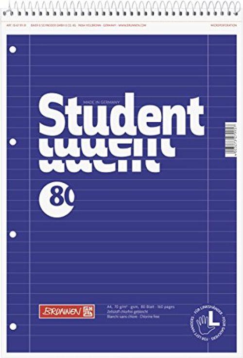 photo Wallpaper of Brunnen-Brunnen 106791101 Notizblock / Collegeblock Student (für Linkshänder, A4, Liniert,-weiß