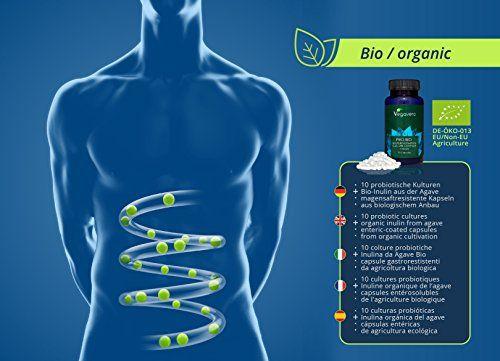 photo Wallpaper of Vegavero-Bio Probiótico Orgánico Premium | 10 Cepas Bacterianas + Inulina Prebiótica-