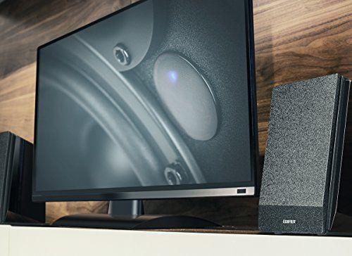 photo Wallpaper of Edifier-Edifier R1800BT Studio Bluetooth Regal Lautsprecher (70 Watt) Mit Infrarot Fernbedienung Für Fernsehen/PC/Notebook/Tablet/Smartphone-Schwarz