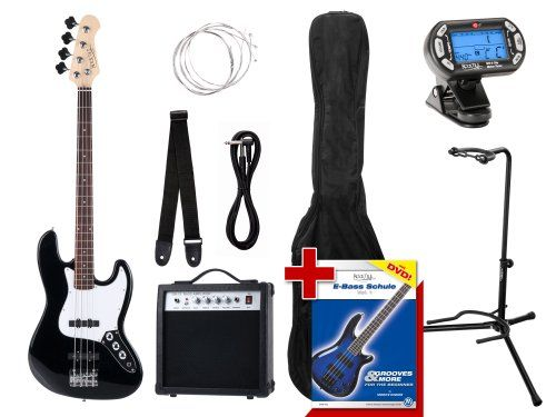 photo Wallpaper of Rocktile-Rocktile Groovers Pack JB E Bass Set III Black-