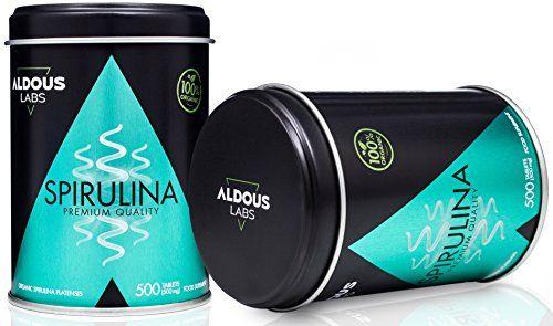 photo Wallpaper of Aldous Labs-Espirulina Ecológica Y Orgánica De Calidad Premium | 500 Comprimidos-