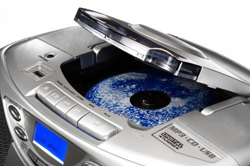photo Wallpaper of Karcher-Karcher CD Radio RR 510N   Boombox (mit CD Player,-silber