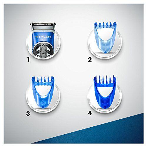 photo Wallpaper of Gillette-Gillette Fusion ProGlide Styler   Maquinilla De Barba Multiusos ,-Negro, Azul